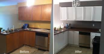 Before And After Kitchen Cabinet Painting Before After Kitchen Cabinets Santiag S Country Painting Ltd
