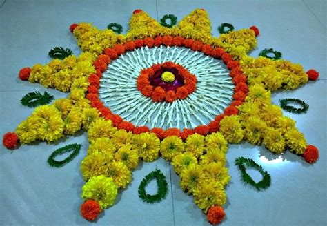 flower design rangoli pattern latest flower rangoli designs 2018 that will steal your