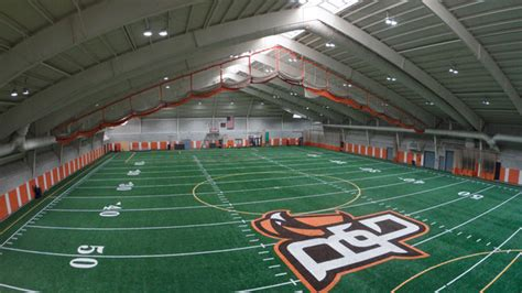 perry field house cree led lighting delivers better light quality to bowling green state university ledinside