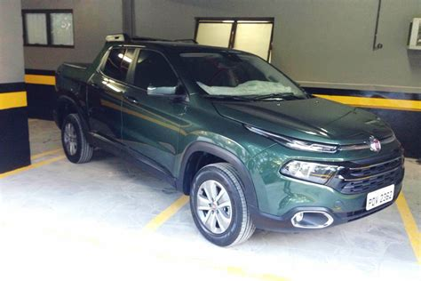 fiat toro new fiat toro pickup truck launches in brazil with two