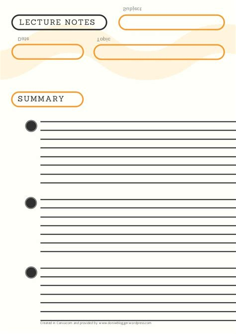 lecture notes template word lecture notes template word gallery template design ideas
