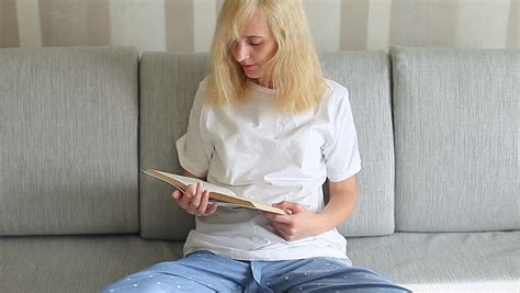 Reading In Pajamas Clip