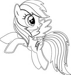 coloring page rainbow dash my pony rainbow dash coloring pages