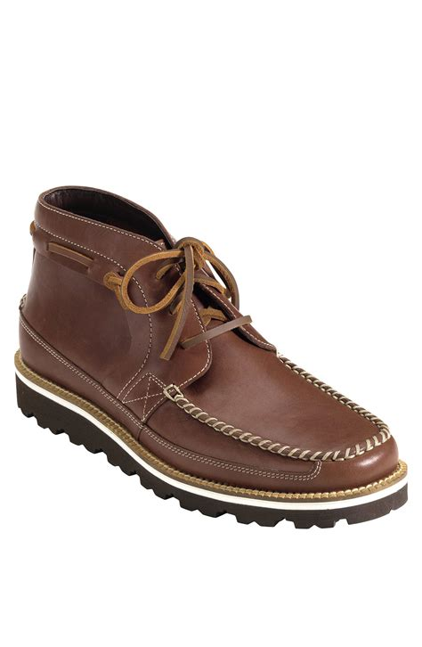 cole haan chukka boots cole haan air bretton chukka boot in brown for