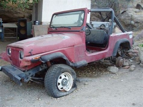 1987 Jeep Parts Sell Used 1987 Wrangler Ohv 6 Cyl Engine With Second