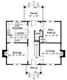 center hall colonial floor plans