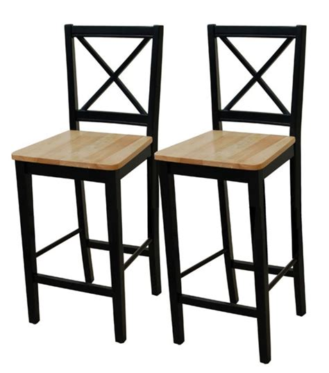Cheap Bar Stools by Virginia 30 Inch Cross Back Stools Set Of 2 Design