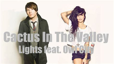 Cactus In The Valley Acoustic Feat Owl City Lights Lights Of Owl City