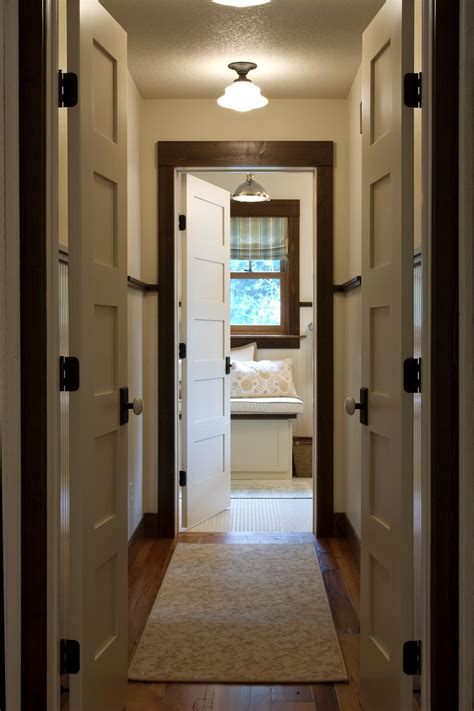 wood trim vs white trim photos hgtv