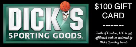 Dick Sporting Goods Gift Card - 2012 facebook cover photo contest trails of freedom