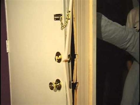 Prevent Front Door Kick In Doors Kicked In Nightlock Helps Prevent Home Invasions