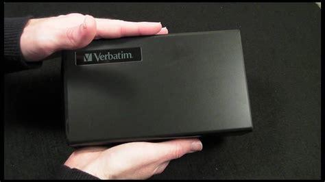 nas external hard drive verbatim 1tb gigabit nas external hard drive review youtube
