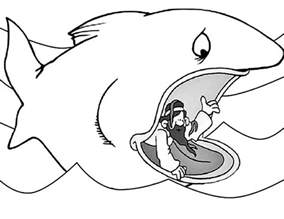 jonah and the whale coloring page free coloring pages of jonah whale