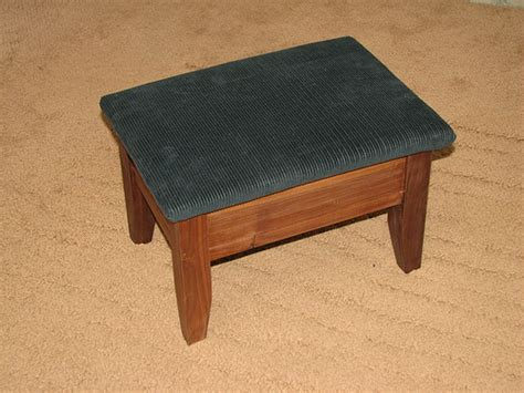 Footstool Upholstery by Footstool Plans Upholstered Images