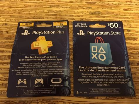 West County Mall Gift Cards - playstation store 1yr membership card 50 playstation store gift card sooke victoria