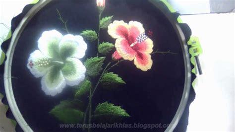 Bordir Manual bordir manual realis bunga sepatu