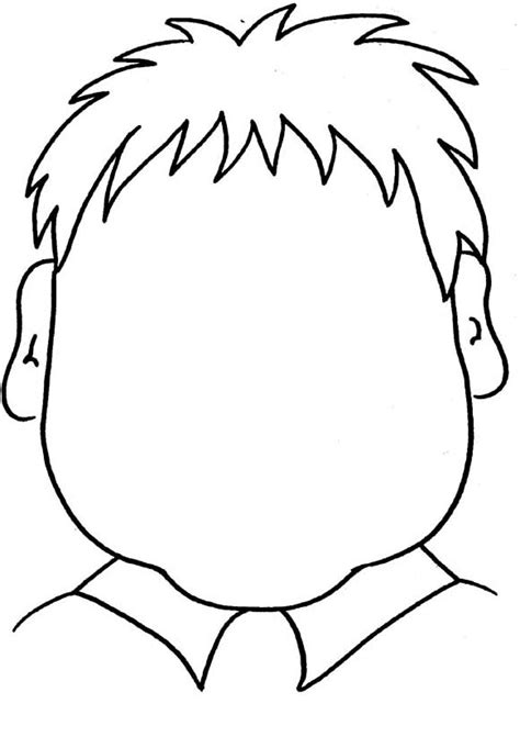 kids fun 19 coloring pages faces