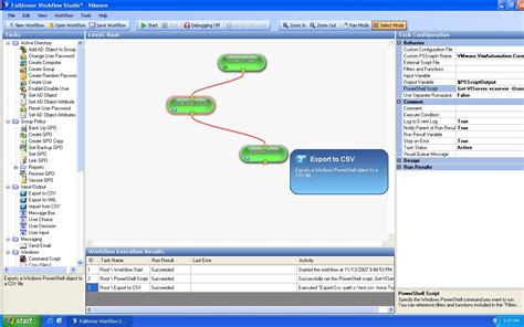 powershell workflow integrate vmware powershell with workflow studio eric