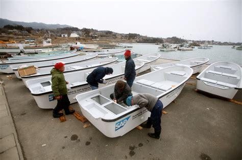 japanese fishing boat design new boats arrive for japanese fishermen operation