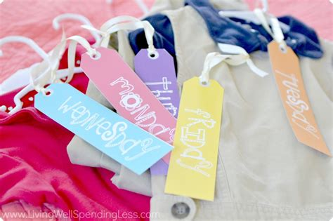 printable hanger tags meal prep sunday ideas weekly meal plan