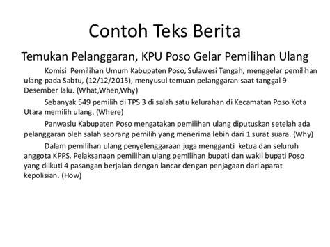 format berita lelayu bahasa indonesia teks berita bahasa indonesia