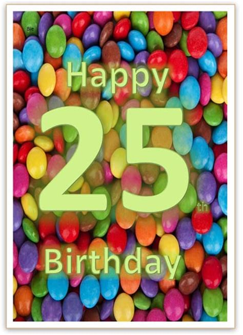 happy birthday card template 25 happy 25th birthday card word template