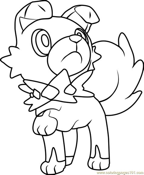 coloring pages pokemon sun and moon rowlet pokemon coloring pages images pokemon images