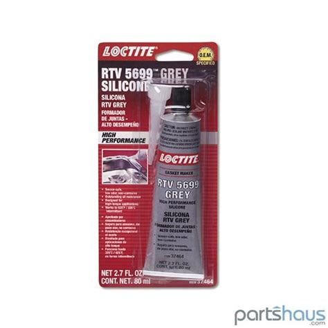 Loctite Sealer Rtv 5699 Grey Silicone 80ml loctite rtv 5699 grey sealant master parts mini cooper parts and porsche parts in