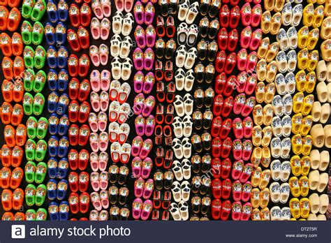 Souvenir Kaos Netherland 1 traditional clogs fridge magnet souvenirs for tourists at the stock photo royalty free