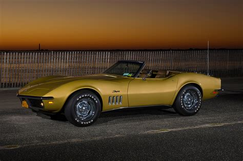 corvette stingray gold 1969 corvette stingray zl1 vette magazine