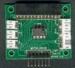 pull up resistor lm311 cybot light i o board