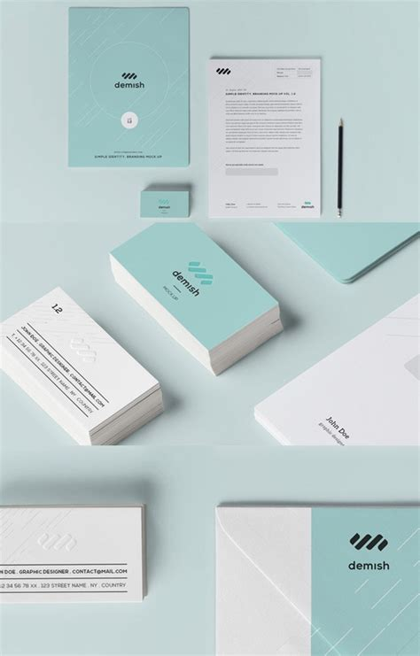 40 Free Branding Identity Mockup Templates To Download Brand Identity Template