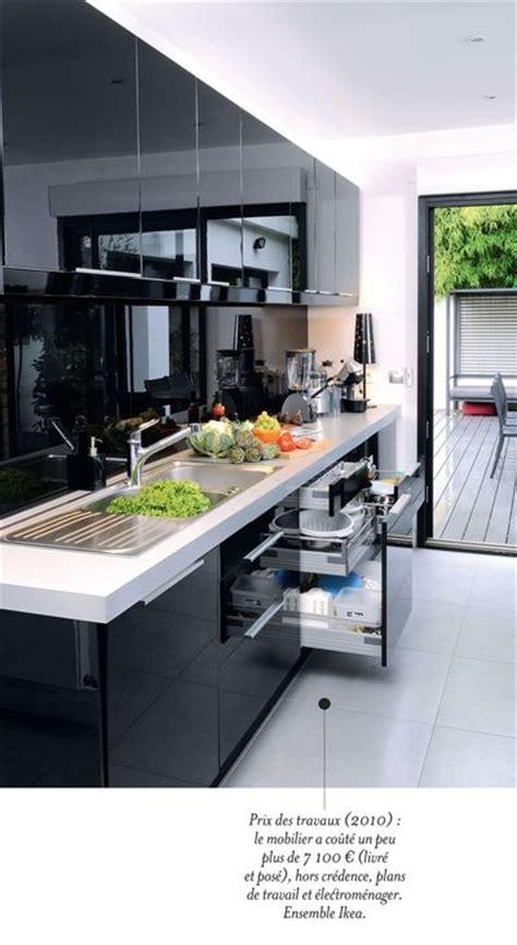 cuisine contemporaine avec ilot central