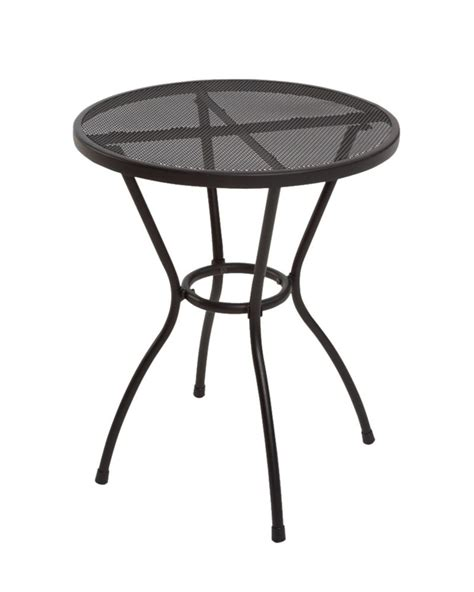 Home Depot Bistro Table by The Home Depot Burlingame 22 Inch Steel Mesh Bistro Table