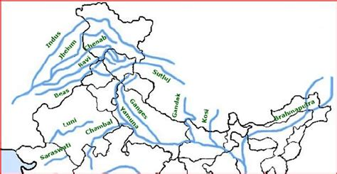 world river systems map what are the major river systems in india updated 2017