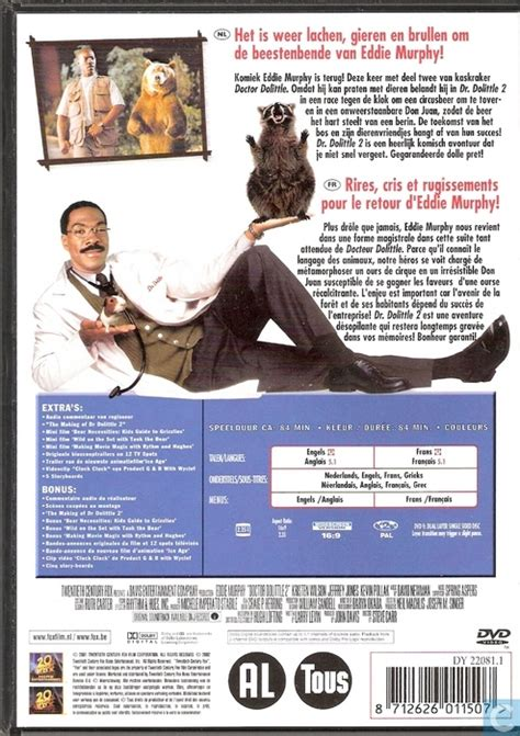 Vcd Dr Dolittle 1 Dan 2 Dr Dolittle 2 Dvd Catawiki