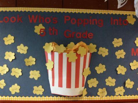 english movie themes cute bulletin board idea for beginning of the school year