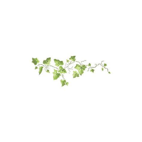 designer stencils small ivy border 25 liked on polyvore featuring flowers backgrounds