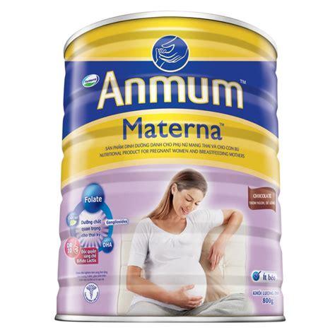 Anmum Materna 400gr top 10 loại sữa bột ngoại tốt nhất cho b 224 bầu việt nam