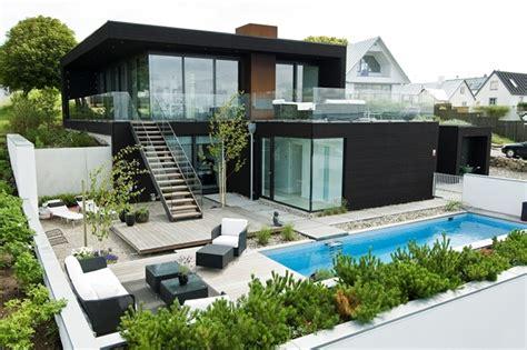 white beach house interiors nilsson villa modern beach house with black and white interior design in sweden