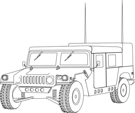 army hummer coloring pages military hummer humvee coloring page free printable