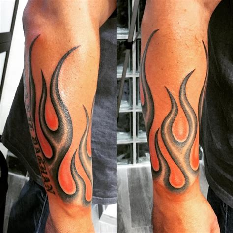 flame tattoo designs for men 85 designs meanings for and 2019