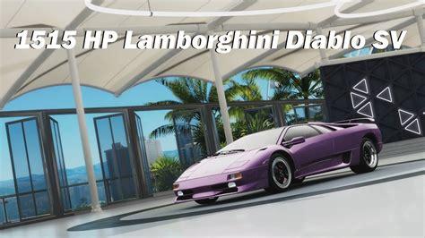How Fast Does A Lamborghini Go From 0 To 60 How Fast Will It Go 1997 Lamborghini Diablo Sv Forza