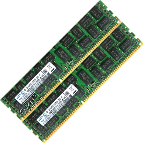 Ram Ecc 4gb 2x2gb ddr3 1333 pc3 10600r ecc registered cl9 240 pin dimm memory ram ebay
