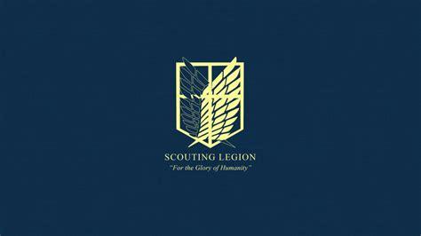 Kaos Scouting Legion Attack On Titan Wings Anime attack on titan scouting legion wallpaper by imxset21 on