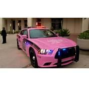 Cop Battling Stage 4 Breast Cancer Gets Pink Patrol Car