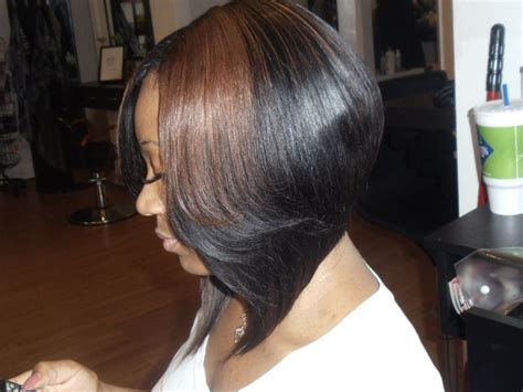Sew In Bob Weave Hairstyles For Black Women | sew in bobs for black women short hairstyle 2013