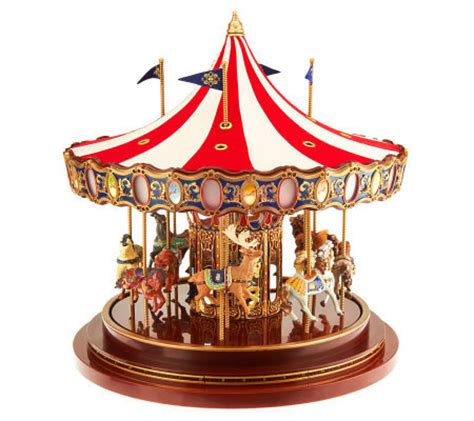 mr christmas grand royal anniversary carousel with lights
