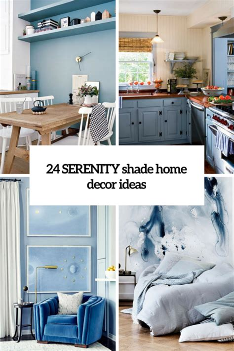 home decor styles for 2016 pantone s 2016 color 24 serenity home d 233 cor ideas digsdigs
