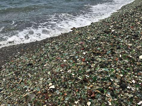 glass beach russia russia s amazing kaleidoscope glass beach might vanish